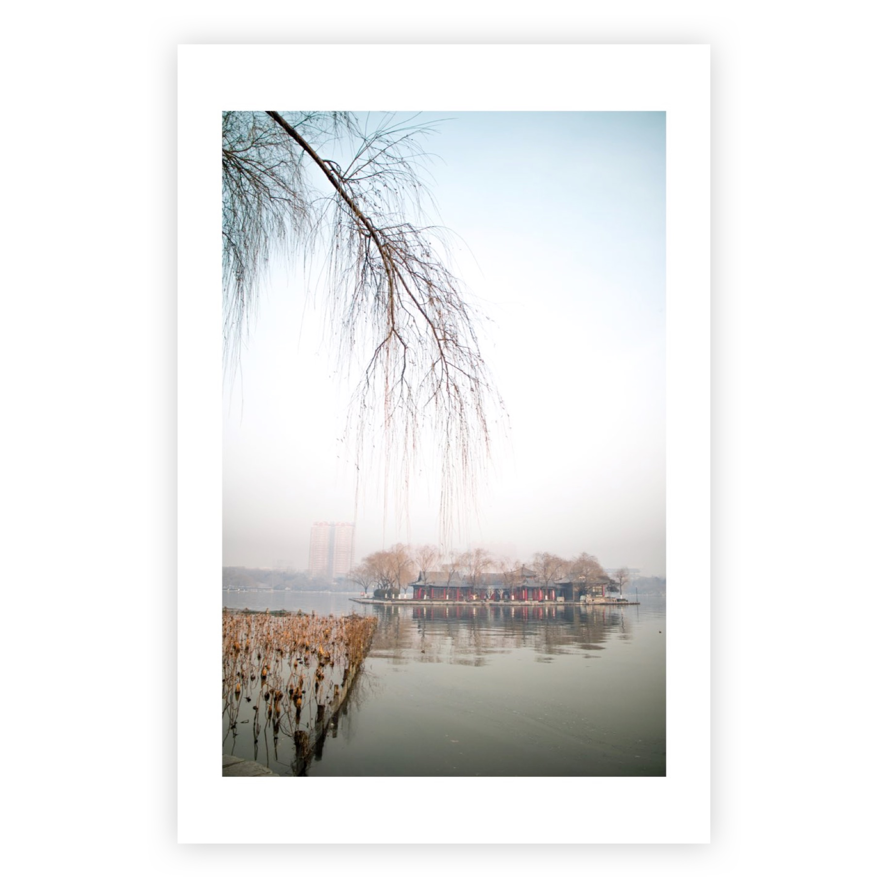 DAMING LAKE LMITED EDITION PRINT